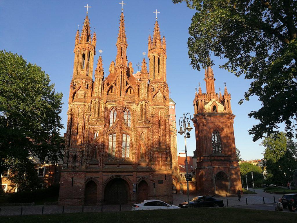 Kerken in Vilnius Litouwen