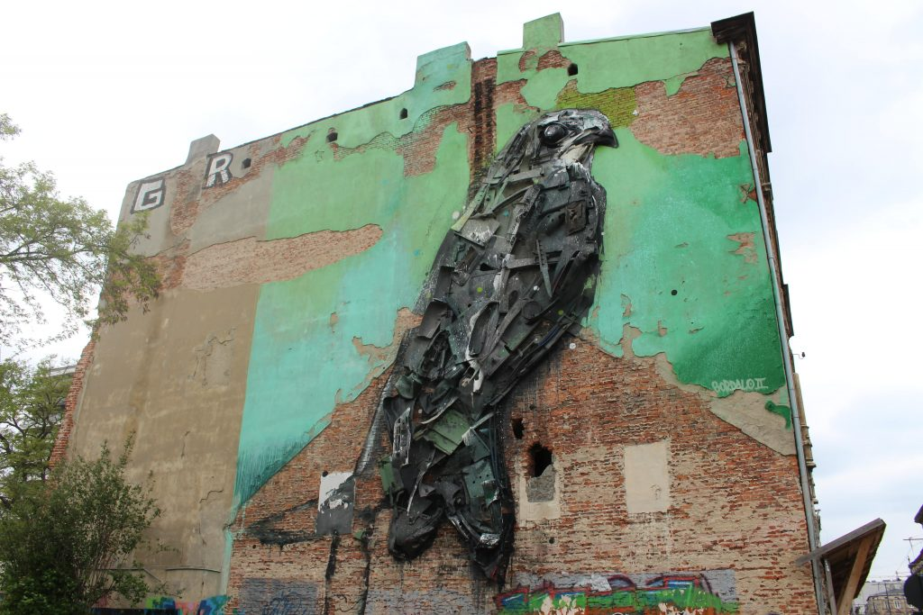 Lodz Street art Polen