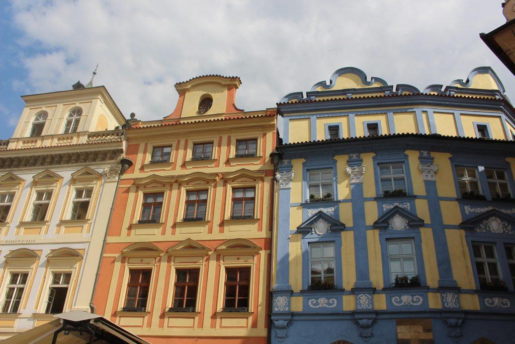 Oude Stadsplein Praag huisjes