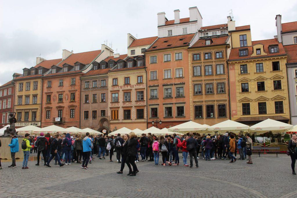 Oude centrum Warsaw Poland