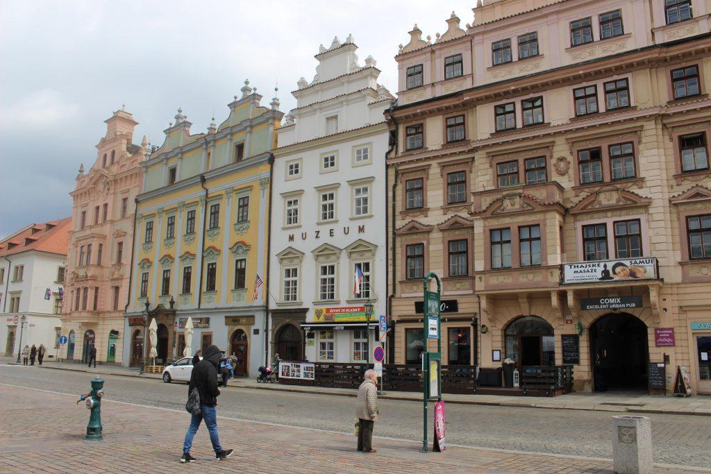 Plzen Tsjechie plein