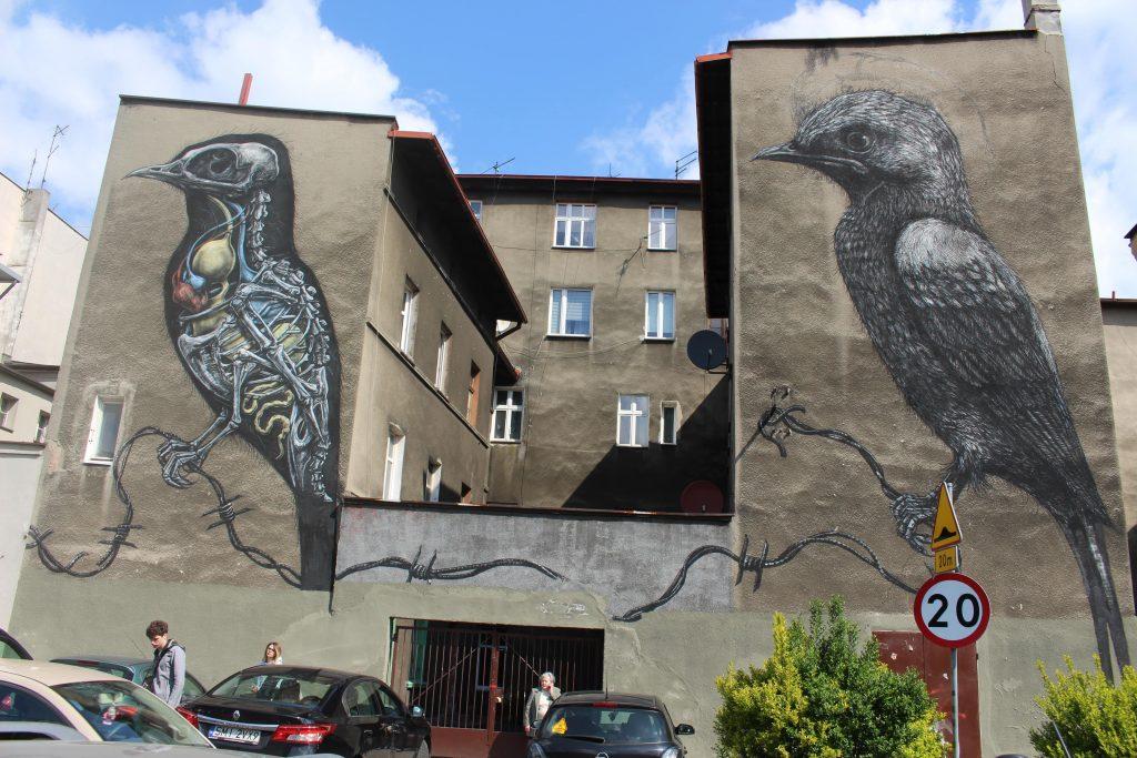 Street art in Katowice