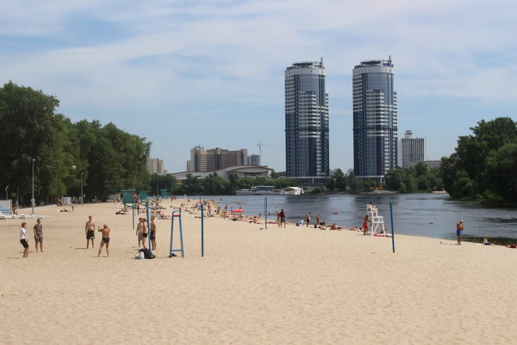 Beach in Kiev
