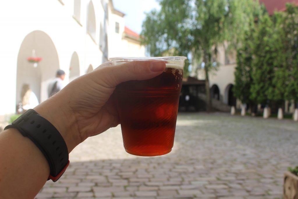 Drinking Kvas Ukraine