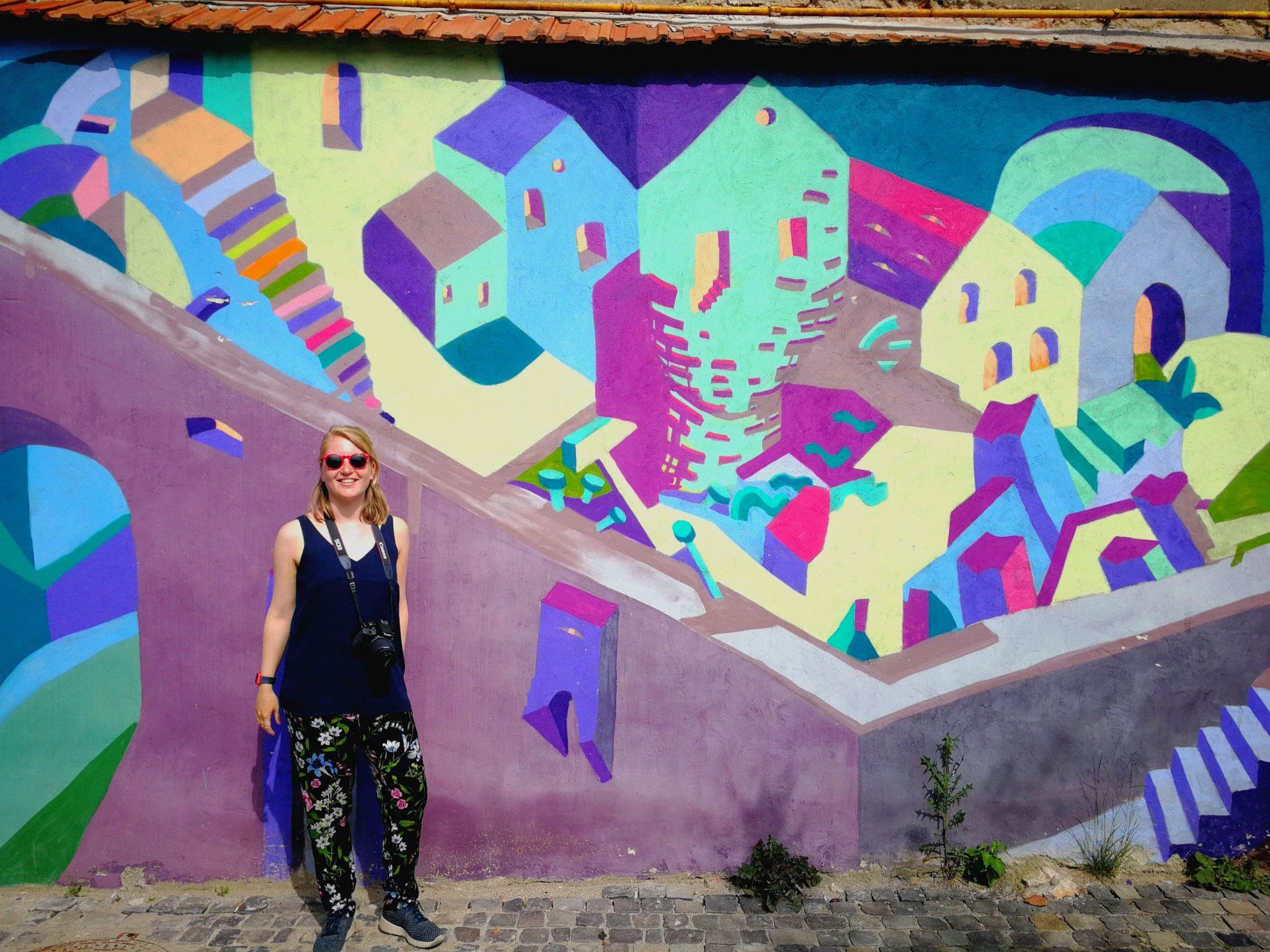 Esther en street art
