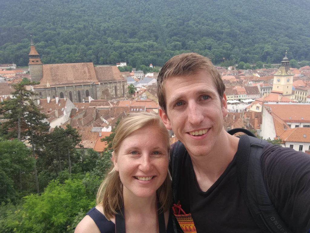 Thieme en Esther in Brasov
