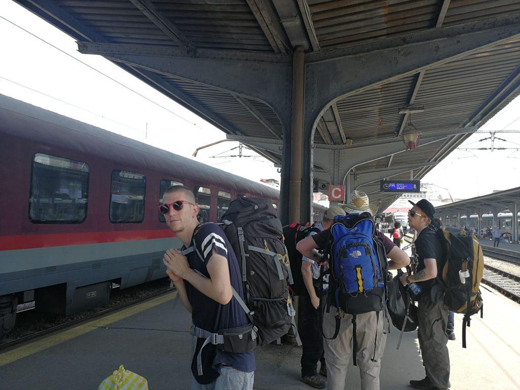 Trein Bucharest