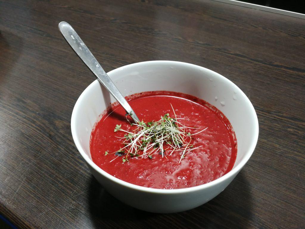 Vegan borscht Ukraine