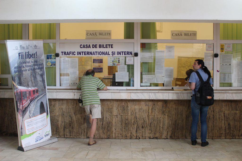 Treinkaartjes kopen Roemenie