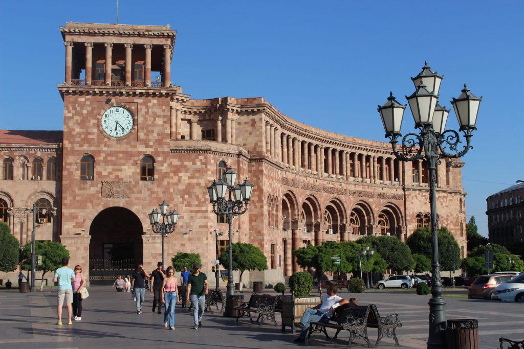 Yerevan pink city Armenia