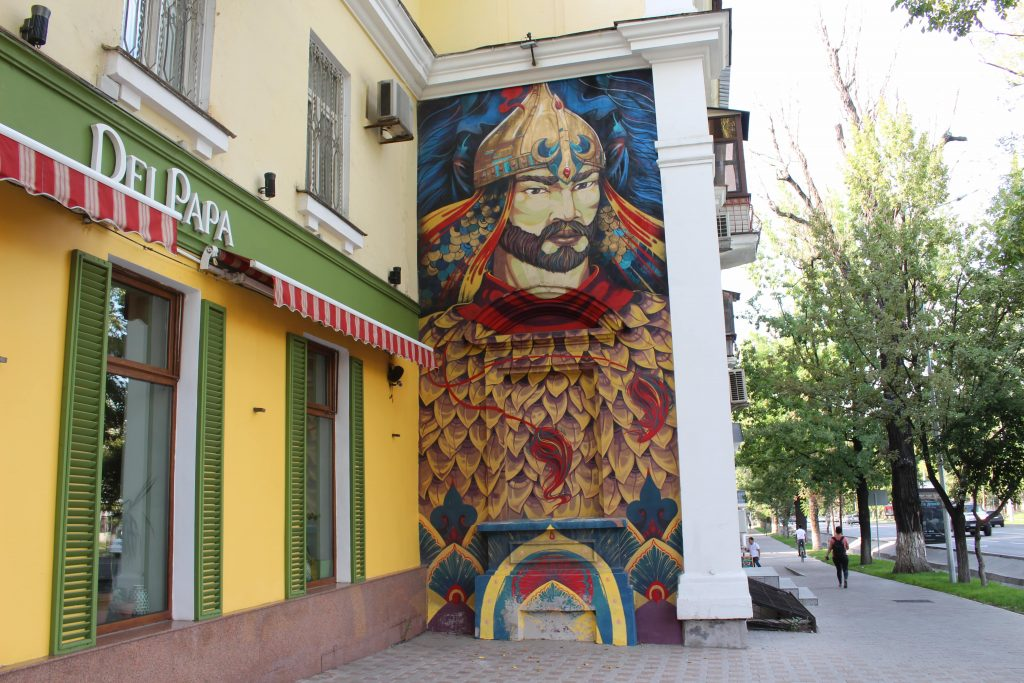 Street art Almaty