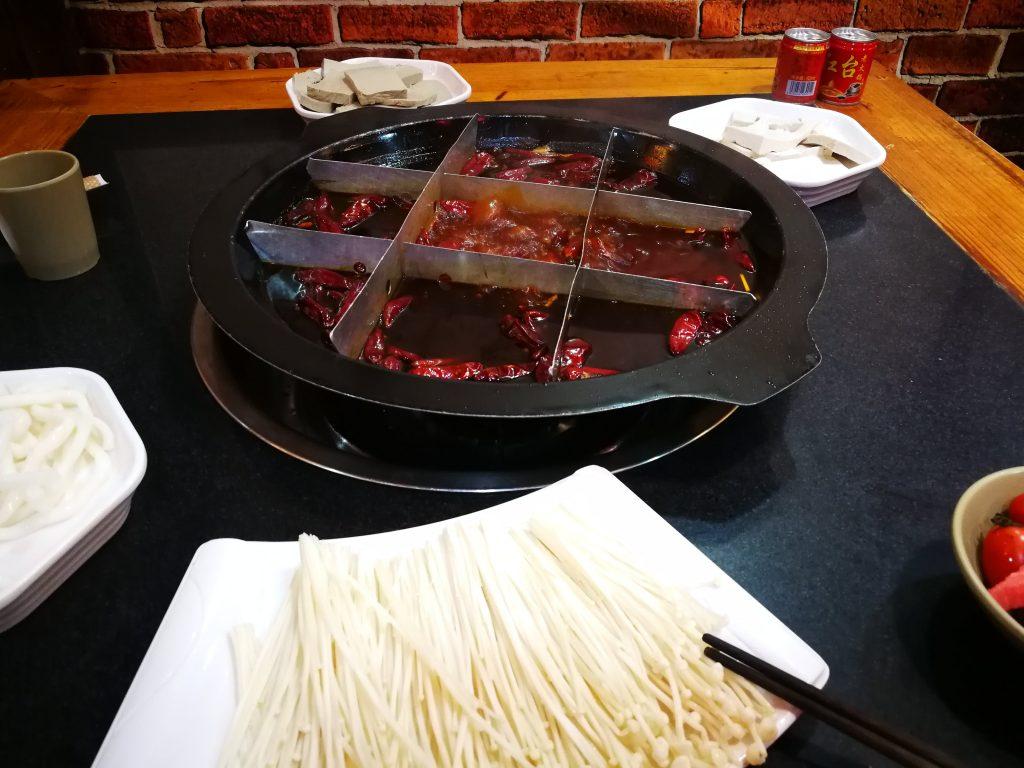 Chongqing hotpot
