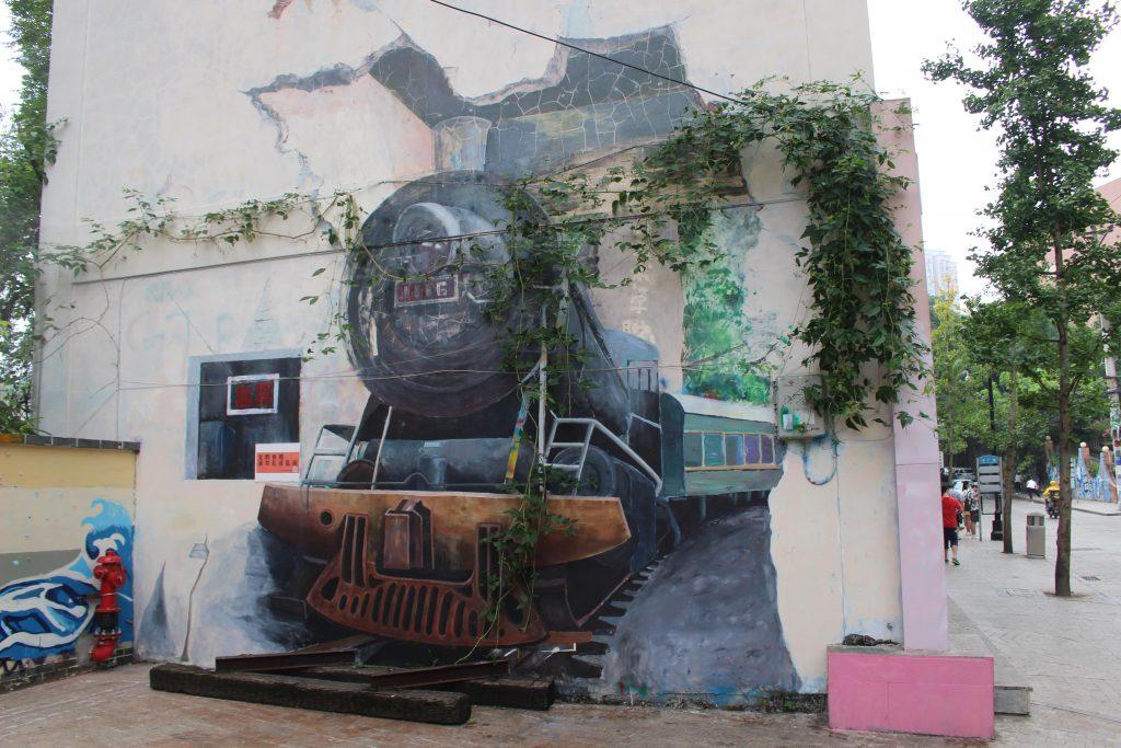 Chongqing street art
