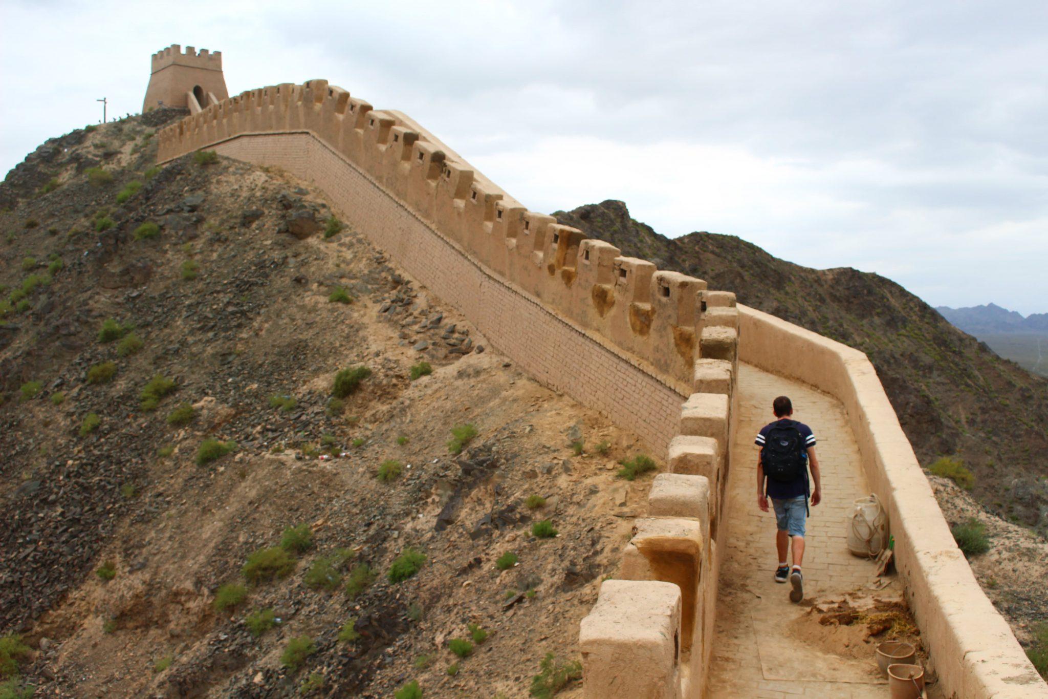 Jiayuguan Chinese muur