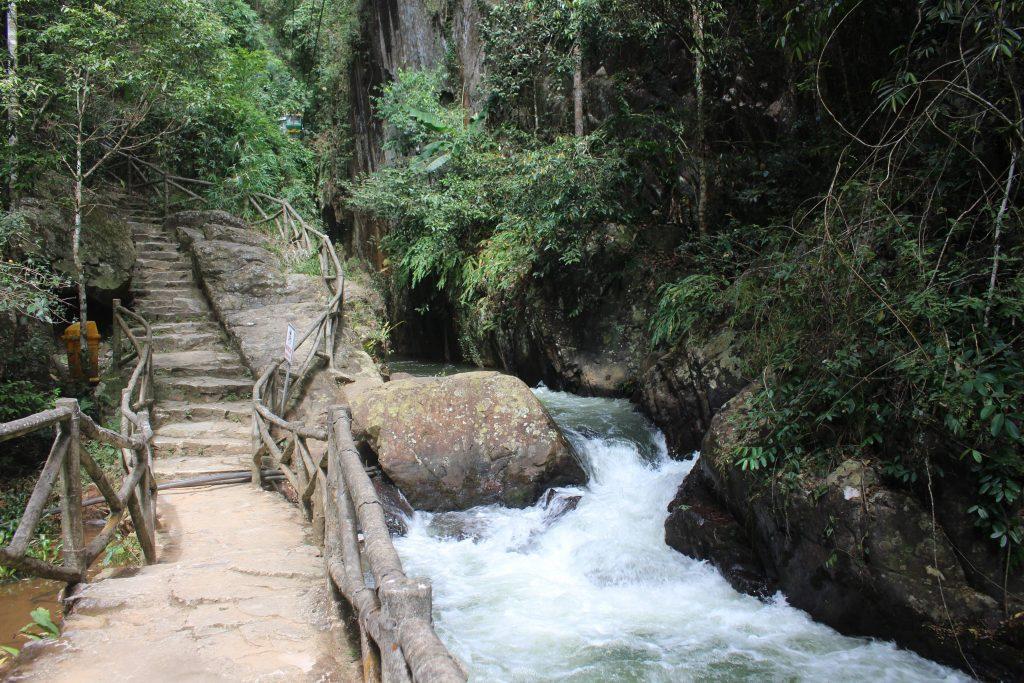 Dalat Vietnam waterfall