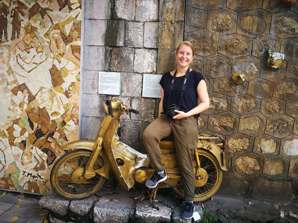 Hanoi Vietnam street art
