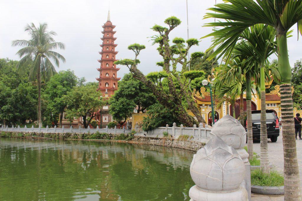 Hanoi temple Vietnam
