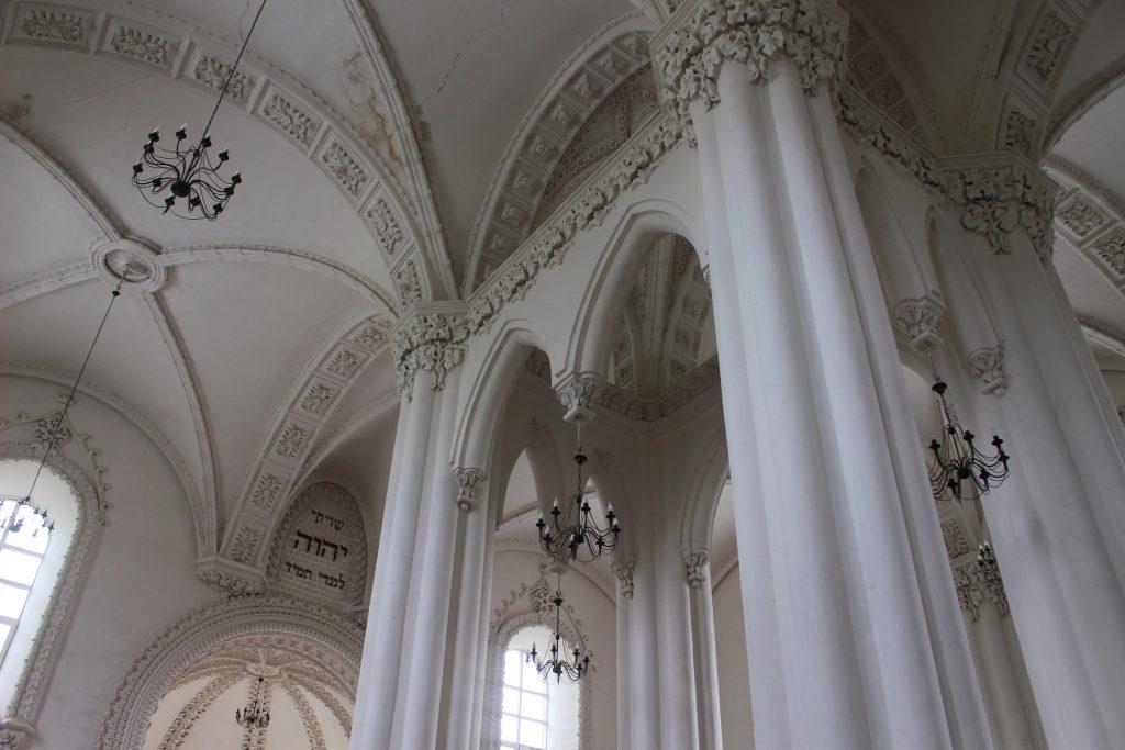 Interior synagoge Grodno Belarus