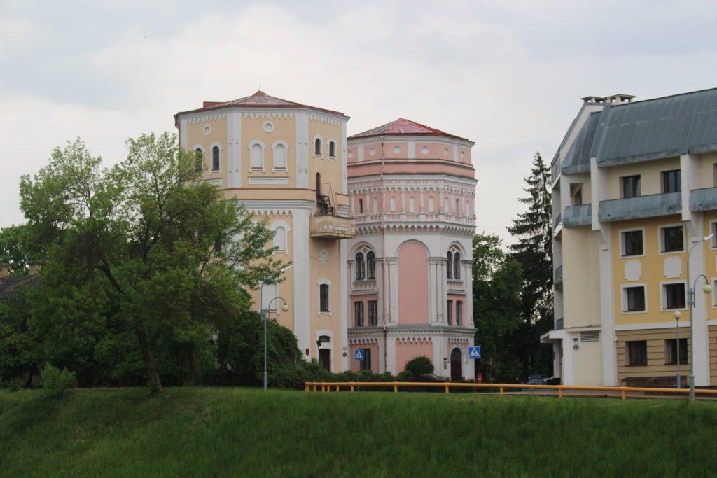Kasia Basia water towers Grodno