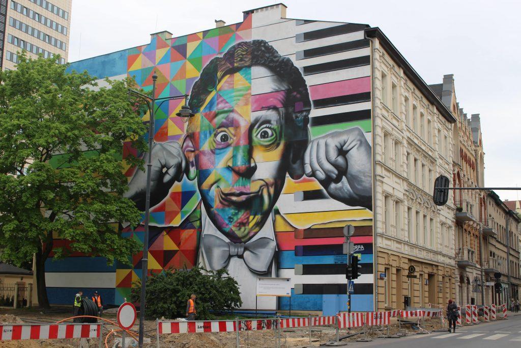 Street art Lodz KOBA
