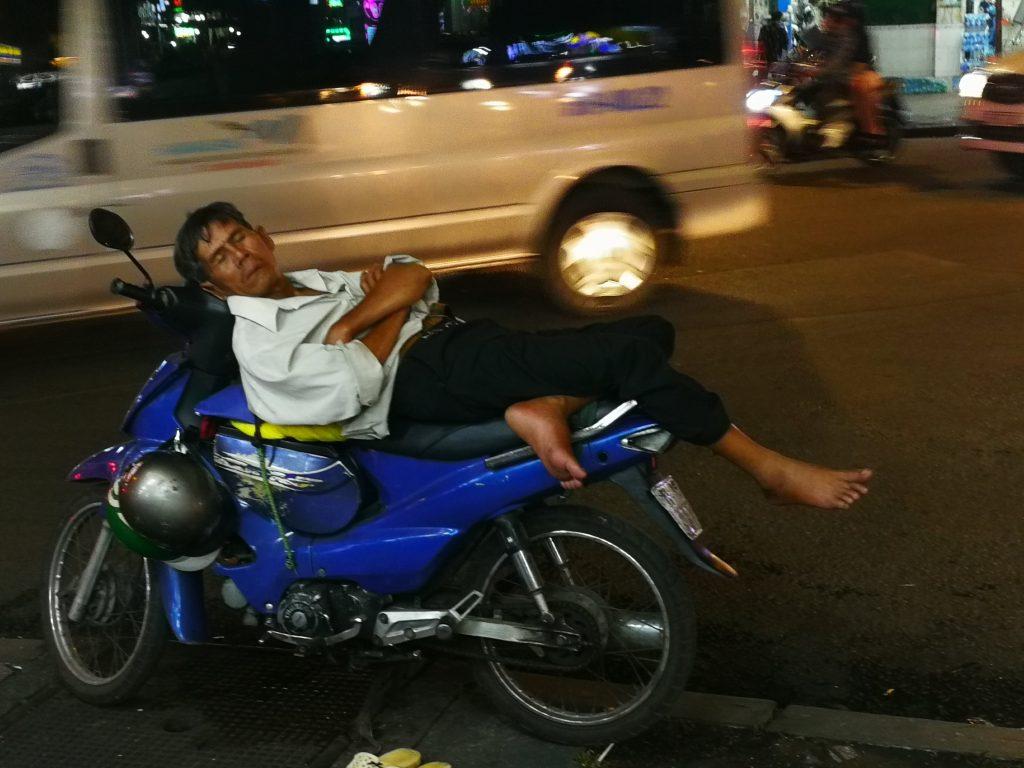 Vietnam street life scooter