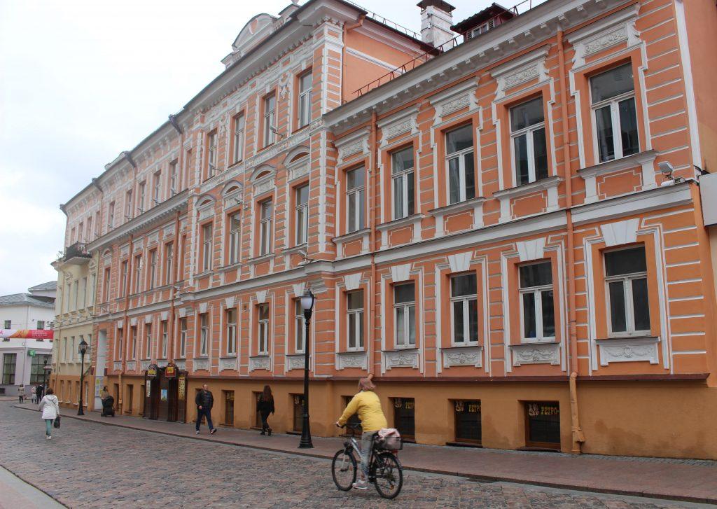 sovetskaya street Grodno detail