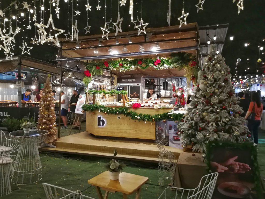Bangkok Asok market Christmas
