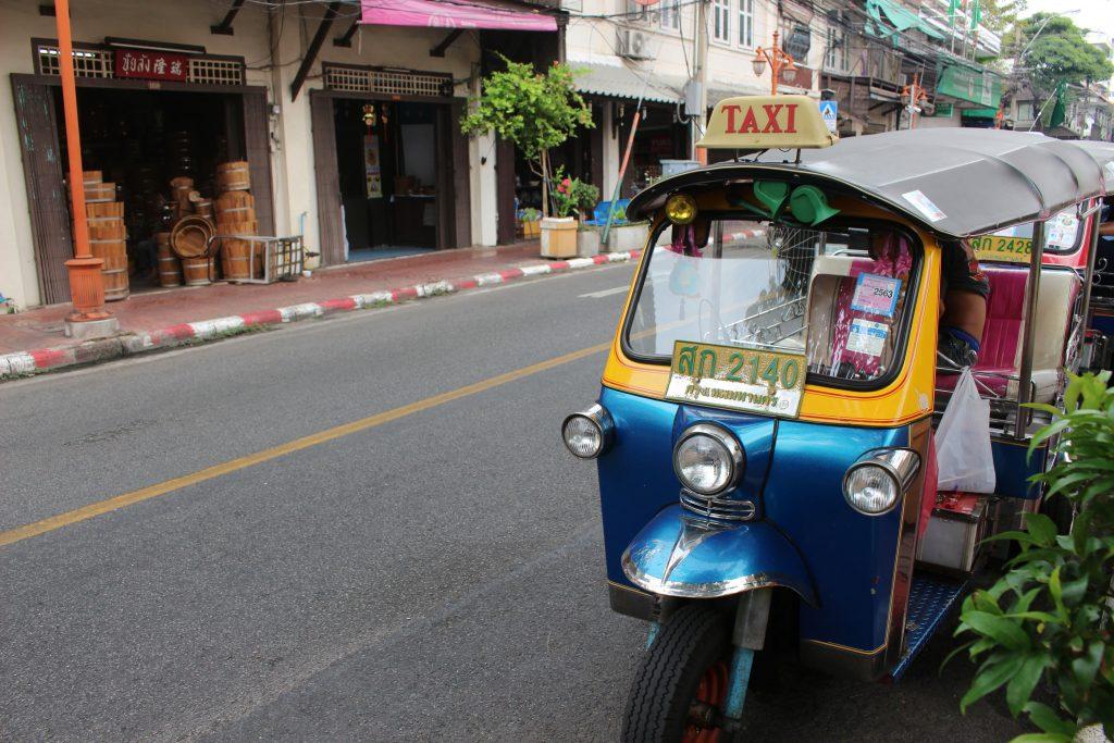 Bangkok Thailand tuktuk