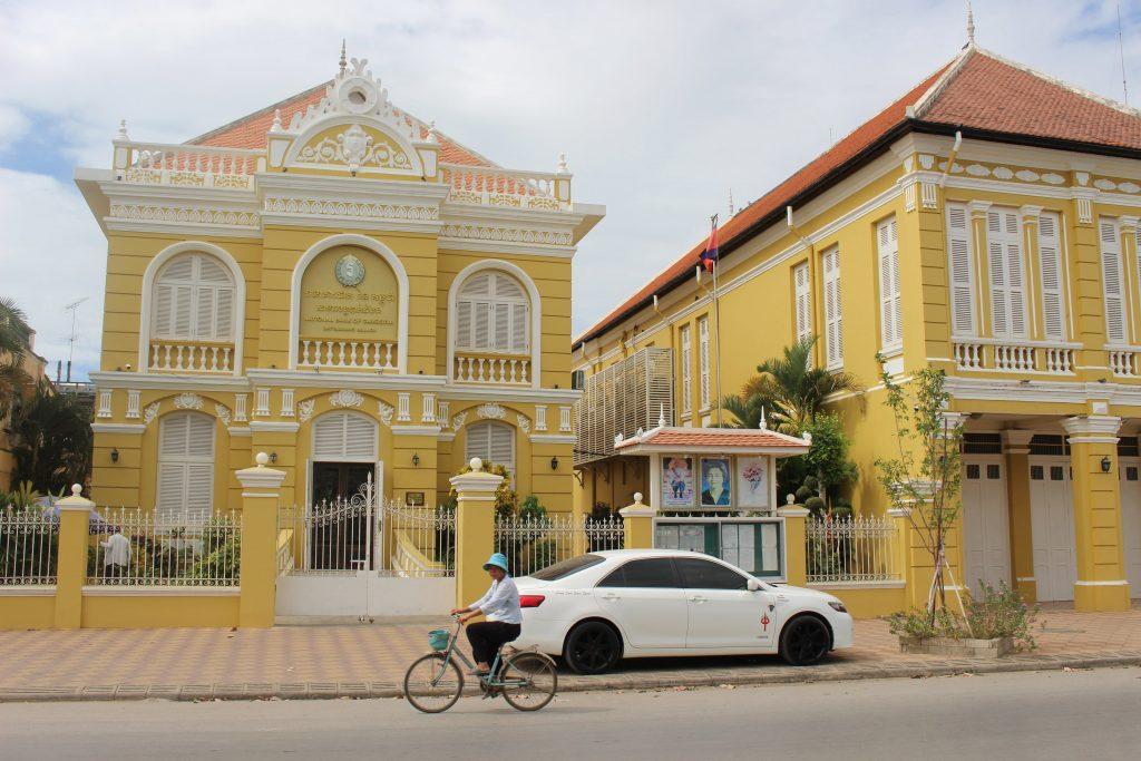 Battambang Cambodia architecture