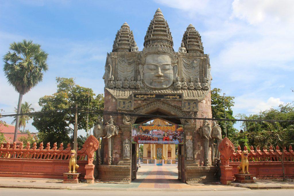 Battambang Cambodia temple