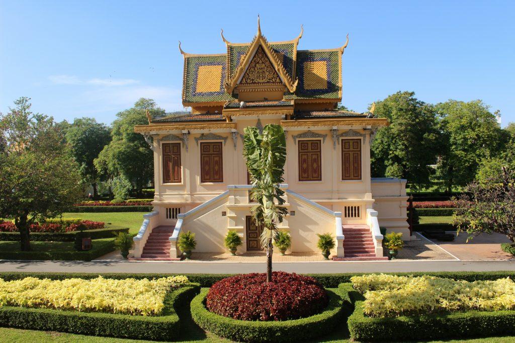 Cambodia Royal Palace Phnom Penh