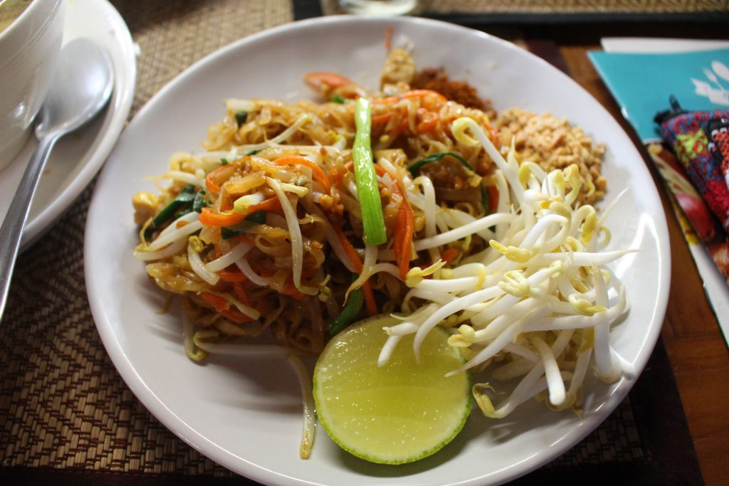 Chiang Mai Cooking class vegan pad thai