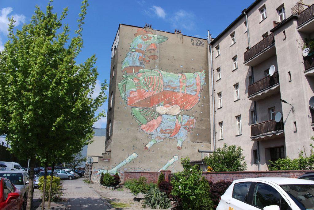 Katowice street art Mariacka