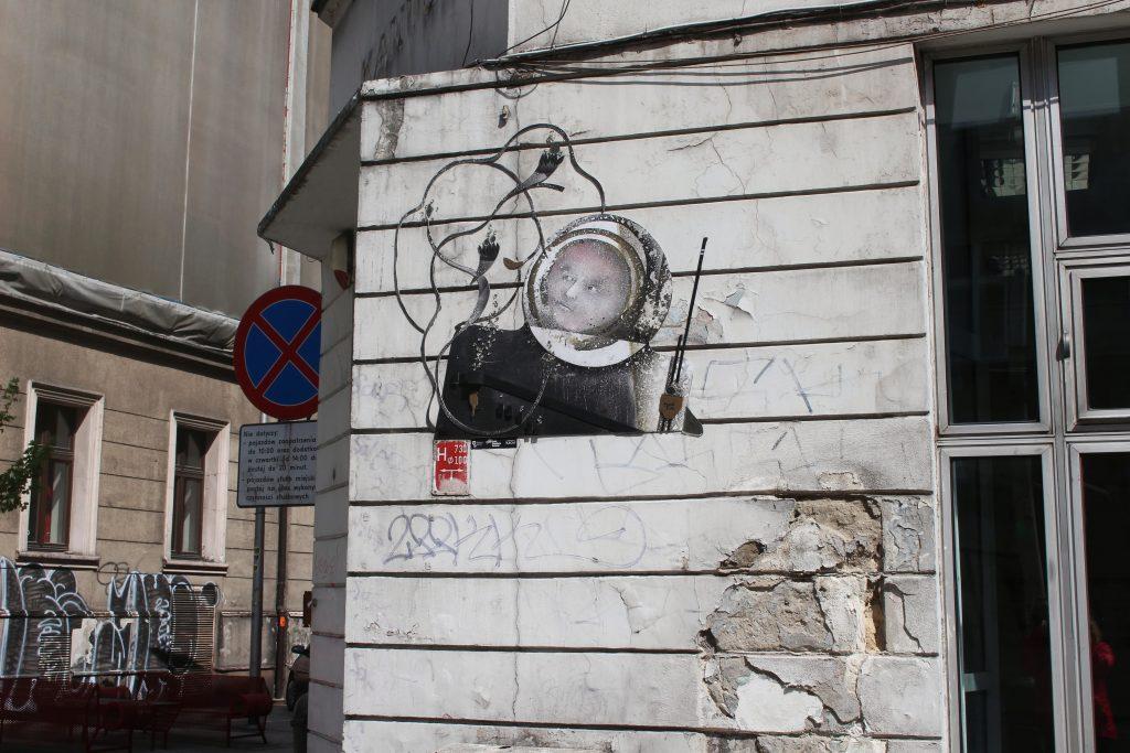 Katowice street art Mariacka Tylna