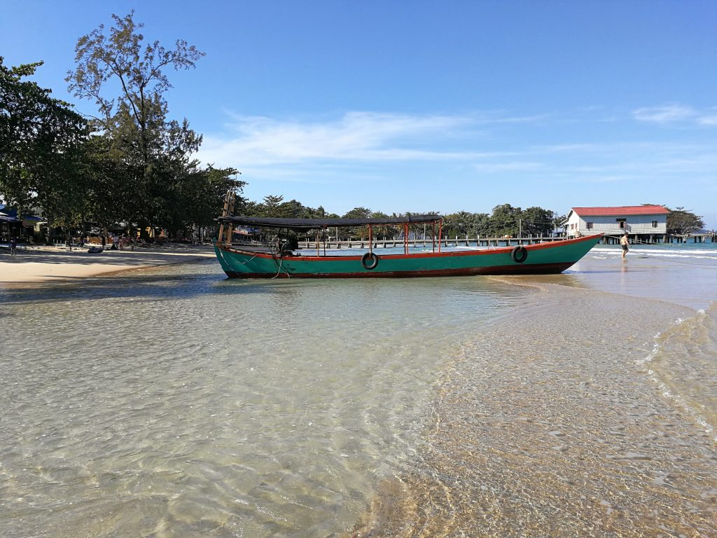 Koh Rong Sanloem Cambodia water