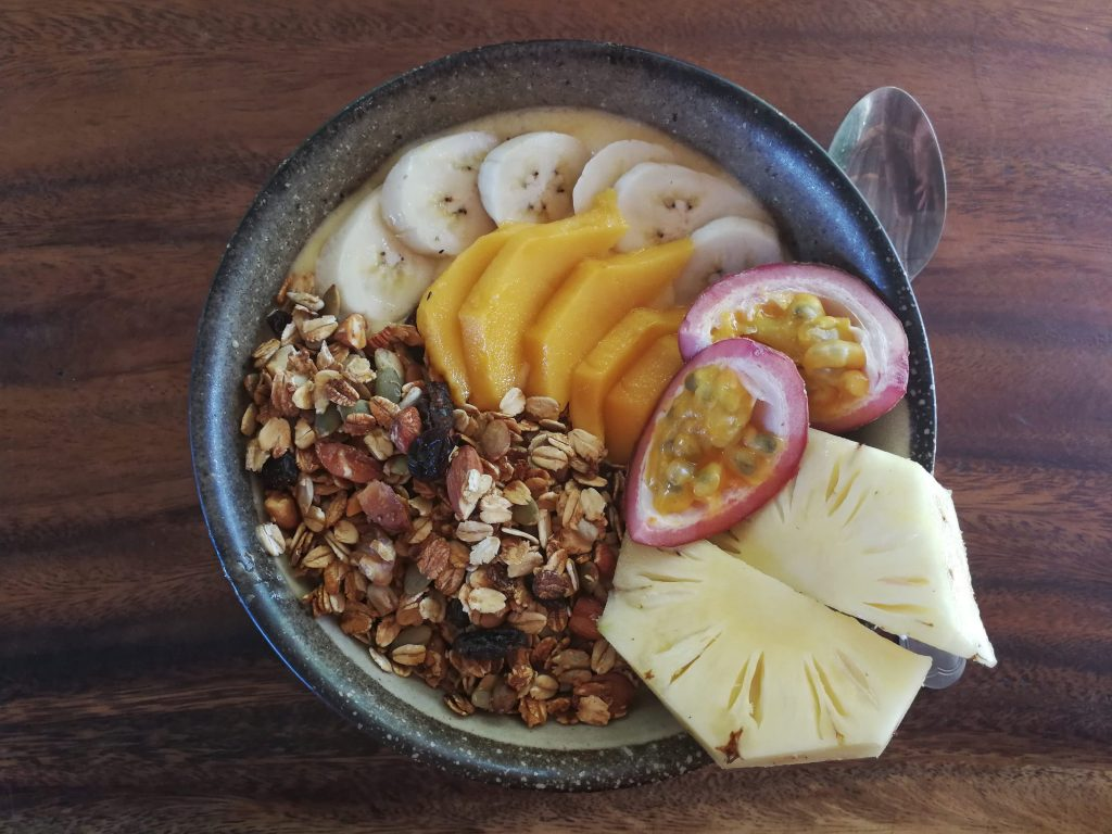 Koh Rong Sanloem smoothie bowl