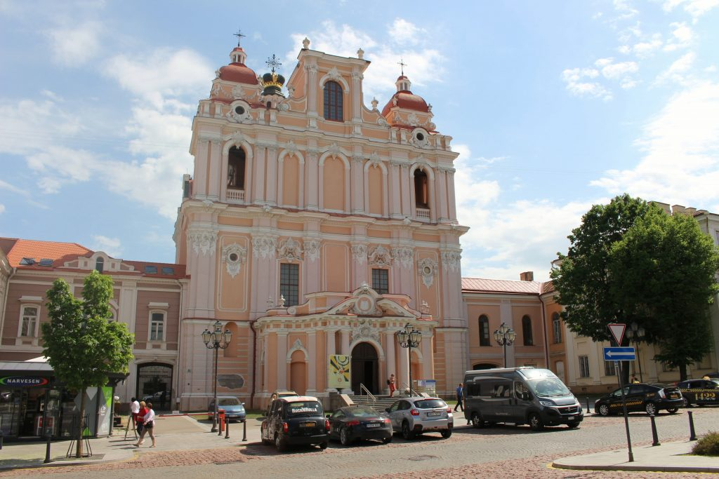 Saint Casimi church Vilnius