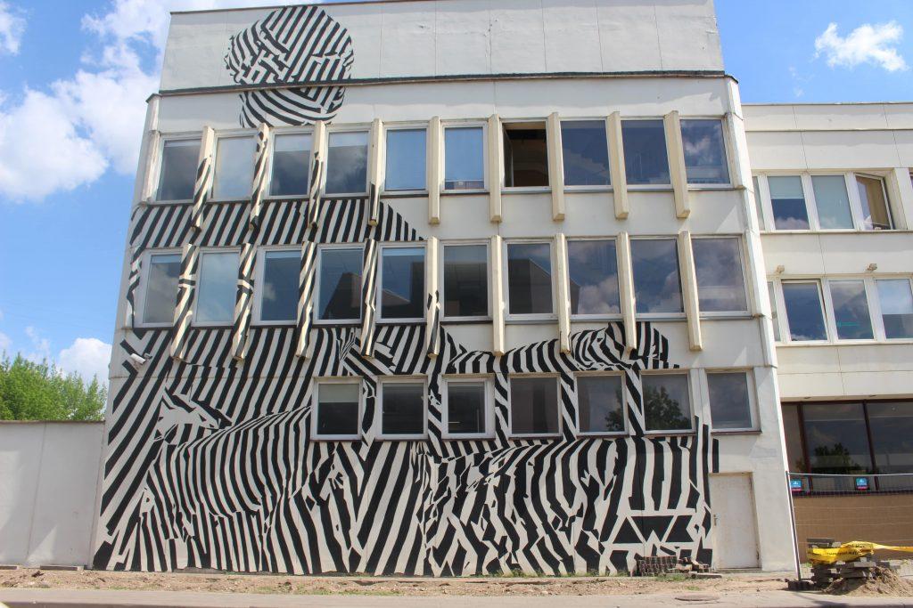 Digital street art Vilnius