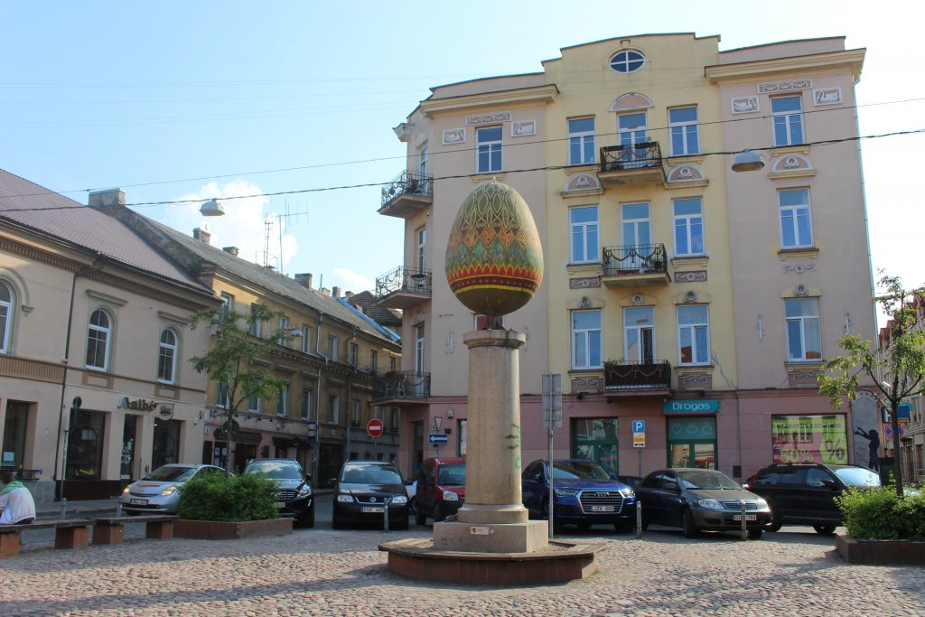 Easter Egg Square Vilnius
