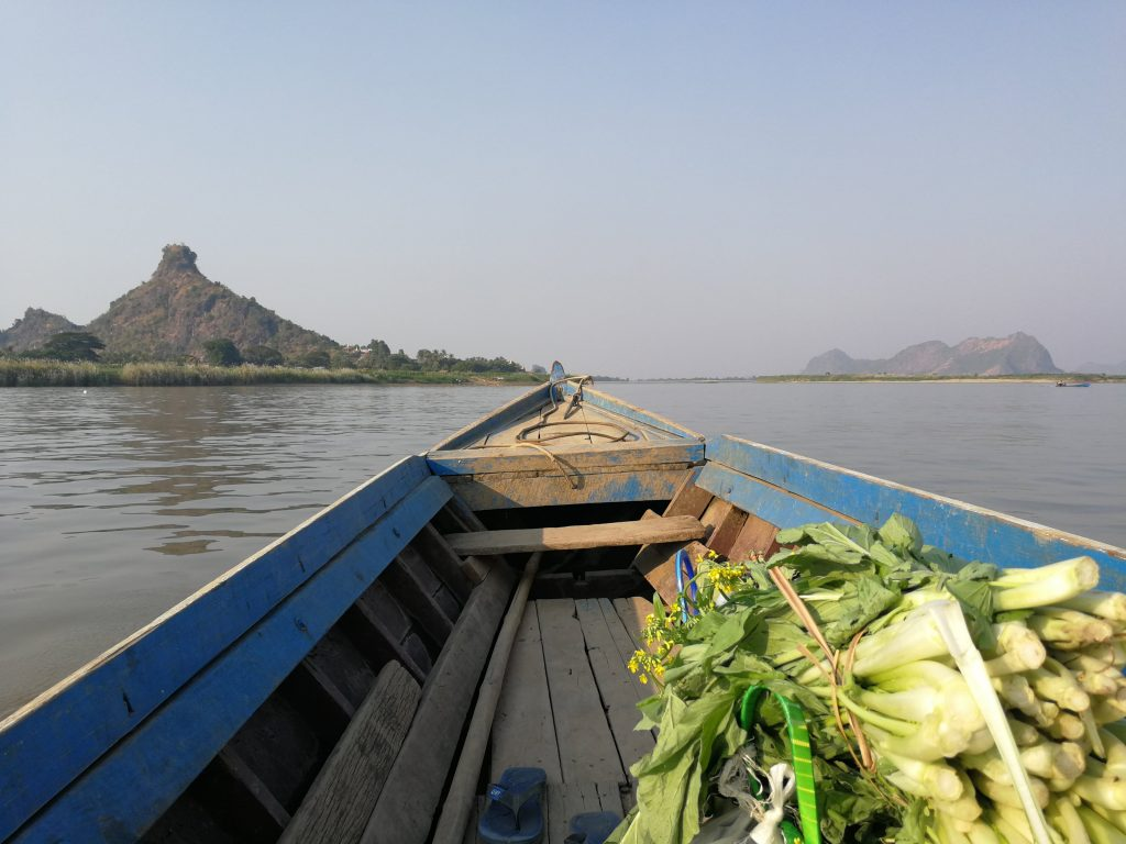 Hpa An boat