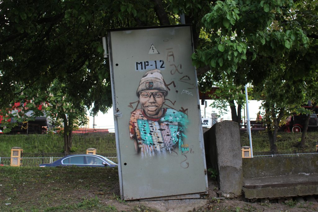 Street art Pylimo Vilnius