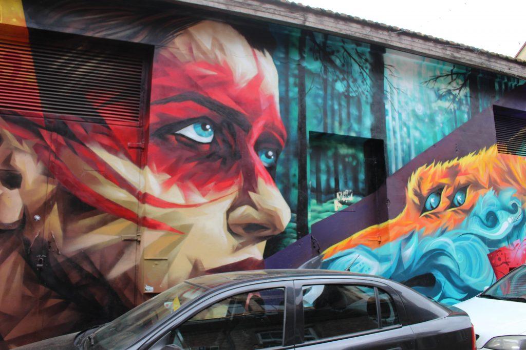 Uzupis street art Vilnius