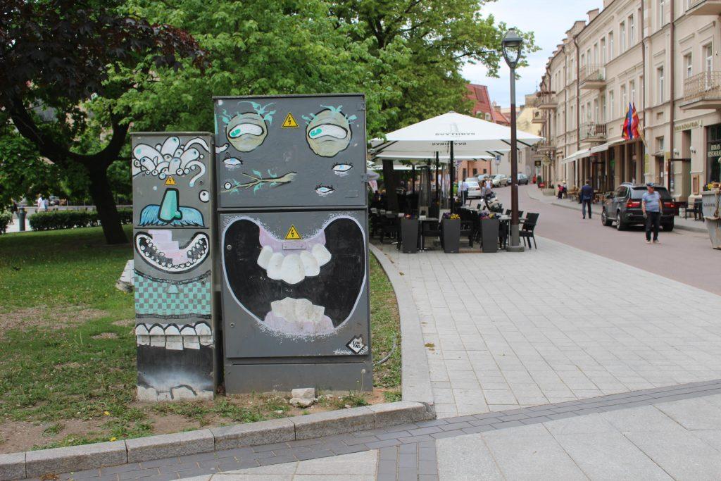 street art elektriciteitskastjes vilnius