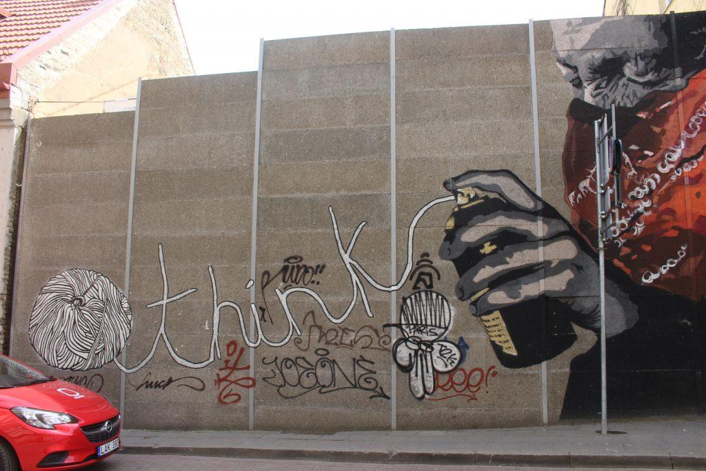 street art think vilnius