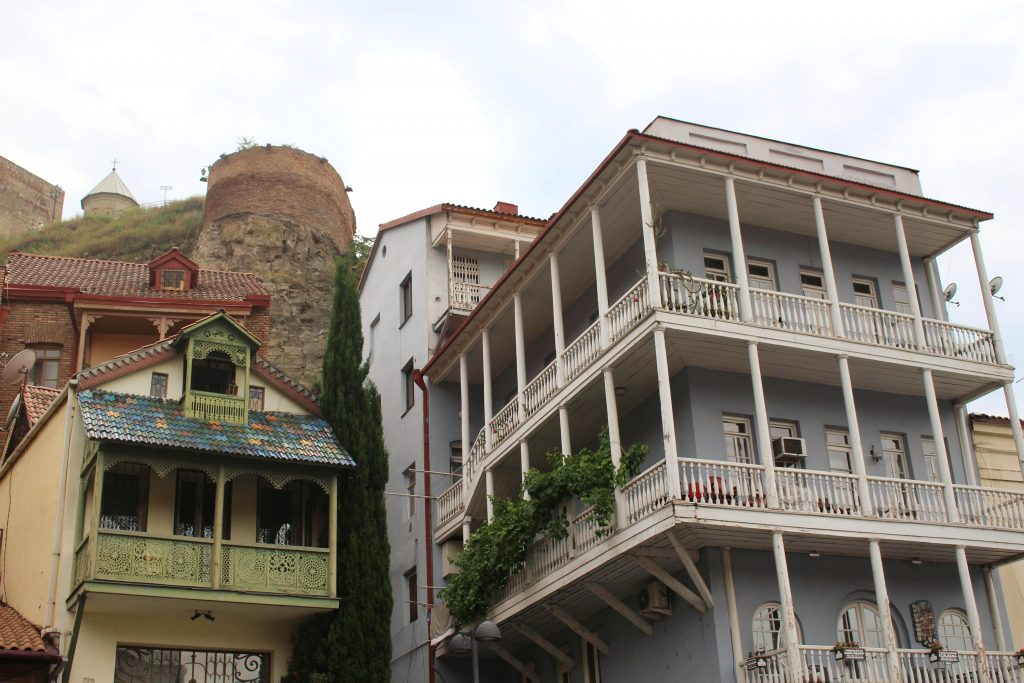 Tbilisi things to do balcony views