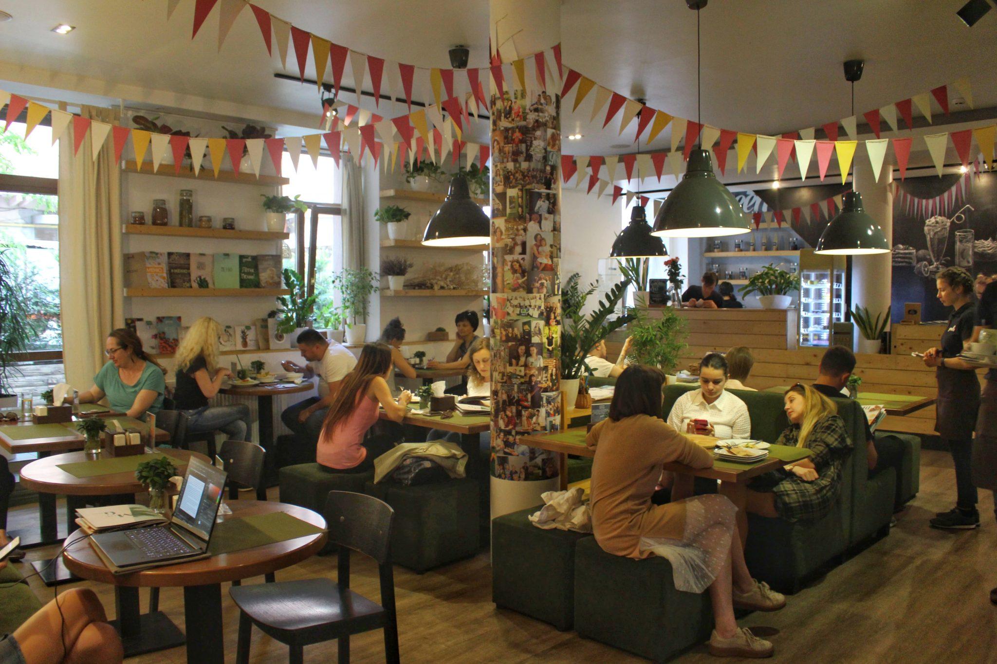 Green cafe Lviv