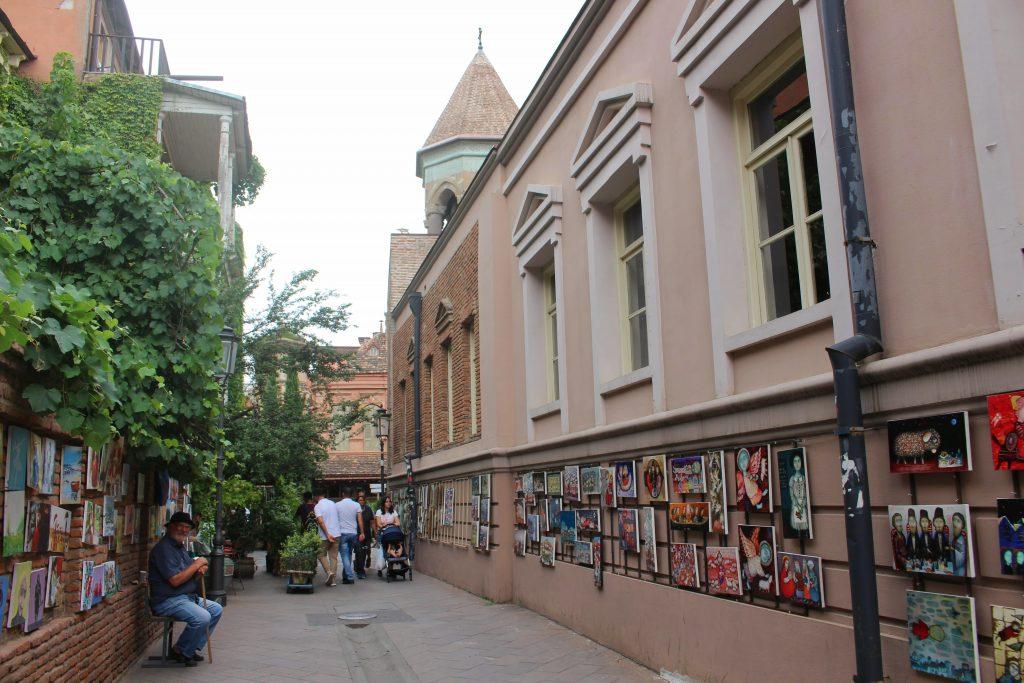 Tbilisi things to do shavteli street