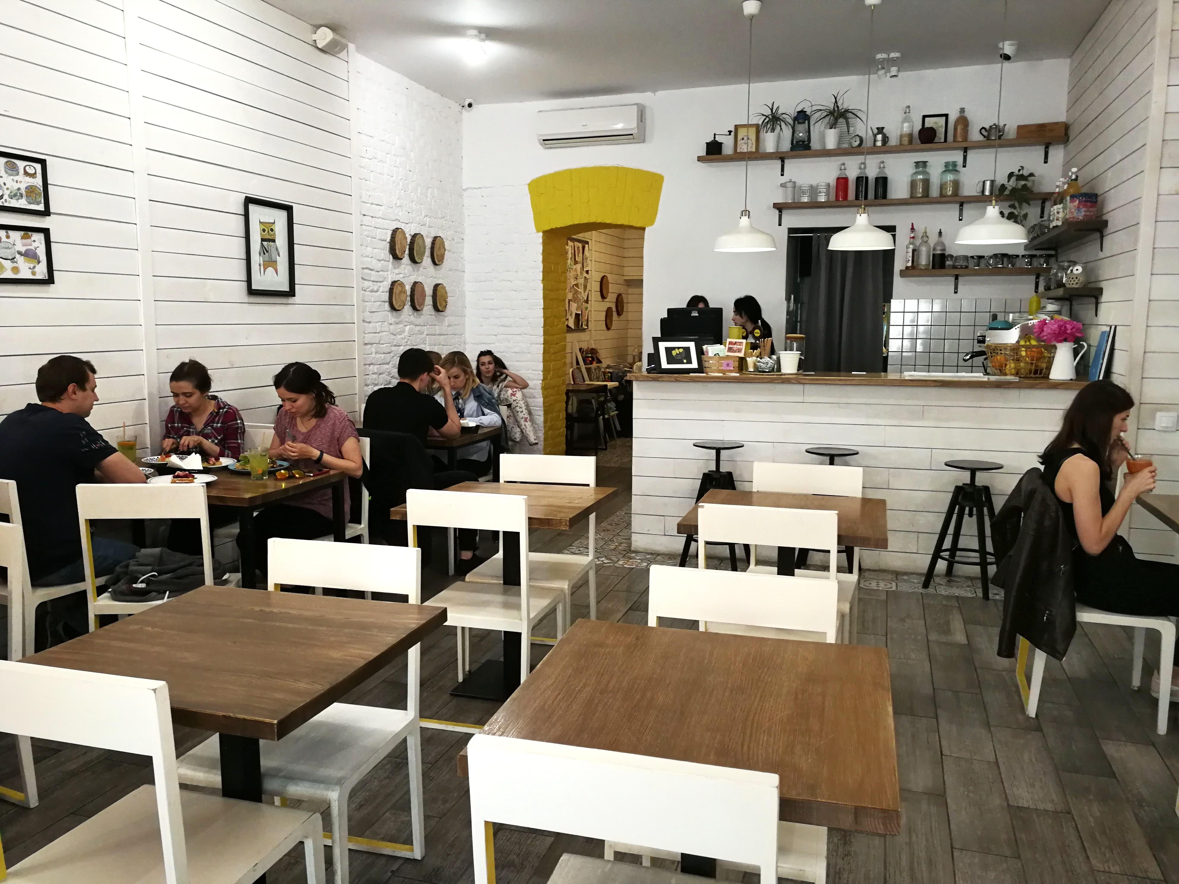 SOWA cafe in Lviv